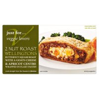 Veggie lovers 2 nut roast wellingtons