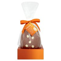 Waitrose Belgian milk chocolate egg with caramel pieces