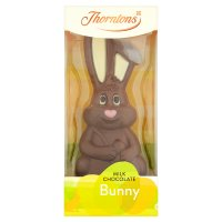Thorntons dark milk and white chocolate bunny
