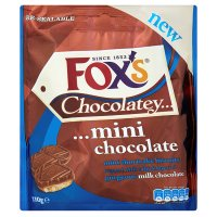 Fox's chocolatey mini shortcake biscuits