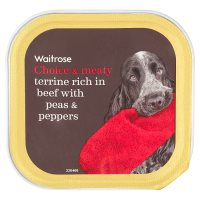 Waitrose terrine rich in beef with peas & peppers