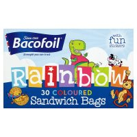 Bacofoil Couloured Sandwich Bags