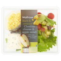 Waitrose Cheddar cheese & apple salad