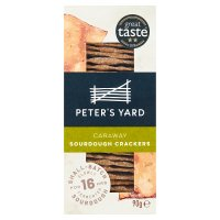 Peter's Yard Sourdough Crispbread Caraway