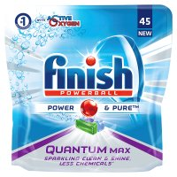 Finish Quantum Max Power & Pure Dishwasher Tablets, x40