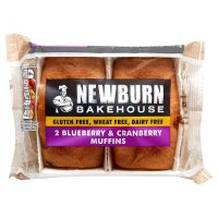 Warburtons gluten & wheat free blueberry muffins
