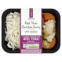 Waitrose Calorie Controlled Red Thai Chicken Curry