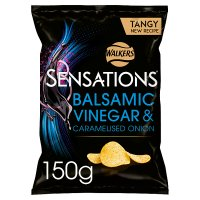 Sensations onion & balsamic vinegar crisps