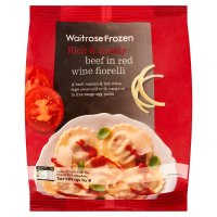 Waitrose Frozen beef in red wine fiorelli