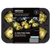 Heston from Waitrose 12 mini fish pies