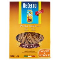 De Cecco Whole Wheat Penne Rigate