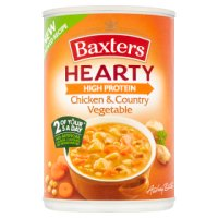Baxters hearty chicken & vegetable