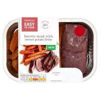 Easy To Cook Bavette Steak with Sweet Potato Fries