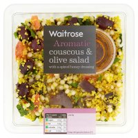 Waitrose couscous & olive salad