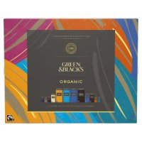 Green & Black's organic chocolate bar connoisseur collection