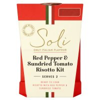 Soli Red Pepper & Sundried Tomato Risotto Kit