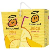 Innocent 100% tropical juice for kids