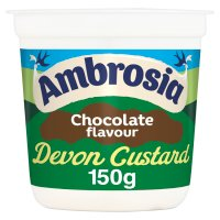 Ambrosia chocolate flavour custard