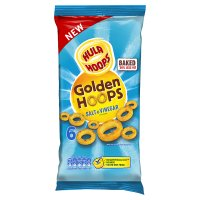 Hula Hoops Golden Hoops Salt & Vinegar