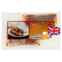 Waitrose 4 British beef steaks with a BBQ spice rub