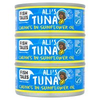 Fish Tales Ali's Tuna Chunks in Sunflower Oil