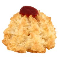 Coconut Macaroon with Cherry