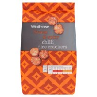 Waitrose chilli rice crackers