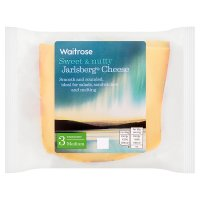 Waitrose Norwegian Jarlsberg Strength 3 Medium