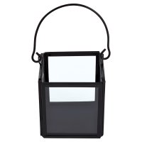 Waitrose Small Square Black Votive