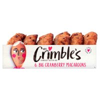 Mrs Crimbles Cranberry Macaroons