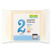 essential Waitrose lighter mild cheese, strength 2