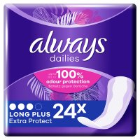 Always Dailies Long Plus Pantyliner 24PK