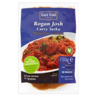 E/E rogan josh curry tarka