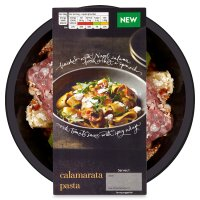 menu from Waitrose Spicy calamarata pasta