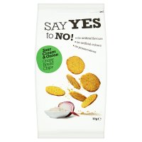 Say Yes To No Sour Cream & Onion Toasted Bread Chips