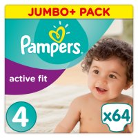 Pampers Jumbo Pack Active Fit Maxi