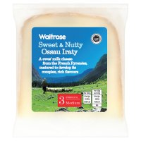 Waitrose medium Ossau Iraty cheese, strength 3