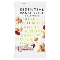 Essential Waitrose Salted Mixed Nuts