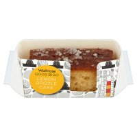 Waitrose Good To Go lemon drizzle cake