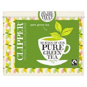 clipper green tea 80 bags waitrose. Black Bedroom Furniture Sets. Home Design Ideas