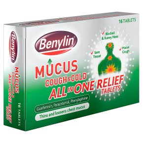 Mucus tablets