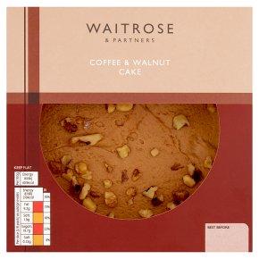 waitrose coffee walnut cake waitrose. Black Bedroom Furniture Sets. Home Design Ideas