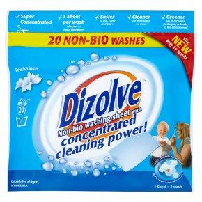 Dizolve non bio washing sheets fresh linen waitrose - Wash white sheets keep fresh ...