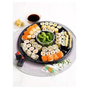Taiko sushi canap platter waitrose for Canape platters