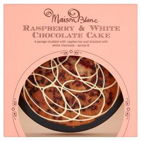 Waitrose White Chocolate And Raspberry Cake