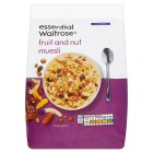 Essential Waitrose - Fruit & Nut Muesli - 1kg