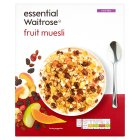 Essential Waitrose - Fruit Muesli - 500g