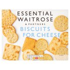 essential Waitrose biscuits for cheese - 300g