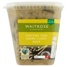 Waitrose green Thai chicken soup - 600g
