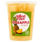 Nature's Finest Pineapple Chunks (in juice) - drained 230g Brand Price Match - Checked Tesco.com 21/01/2015